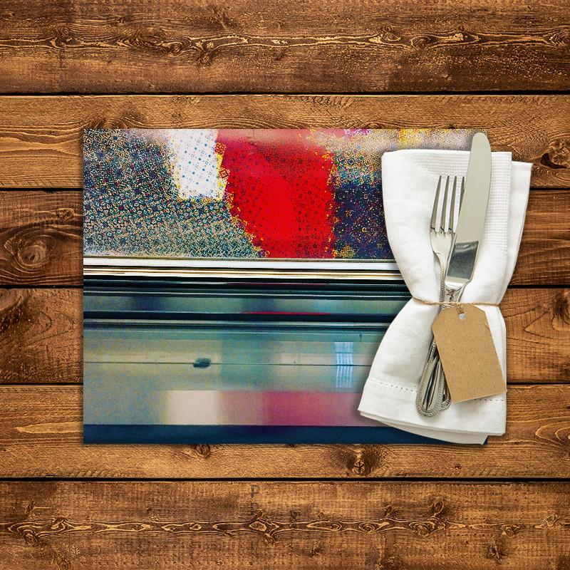 Set de table personnalis station montparnasse fabulhouse kitchen - Set de table personnalise ...
