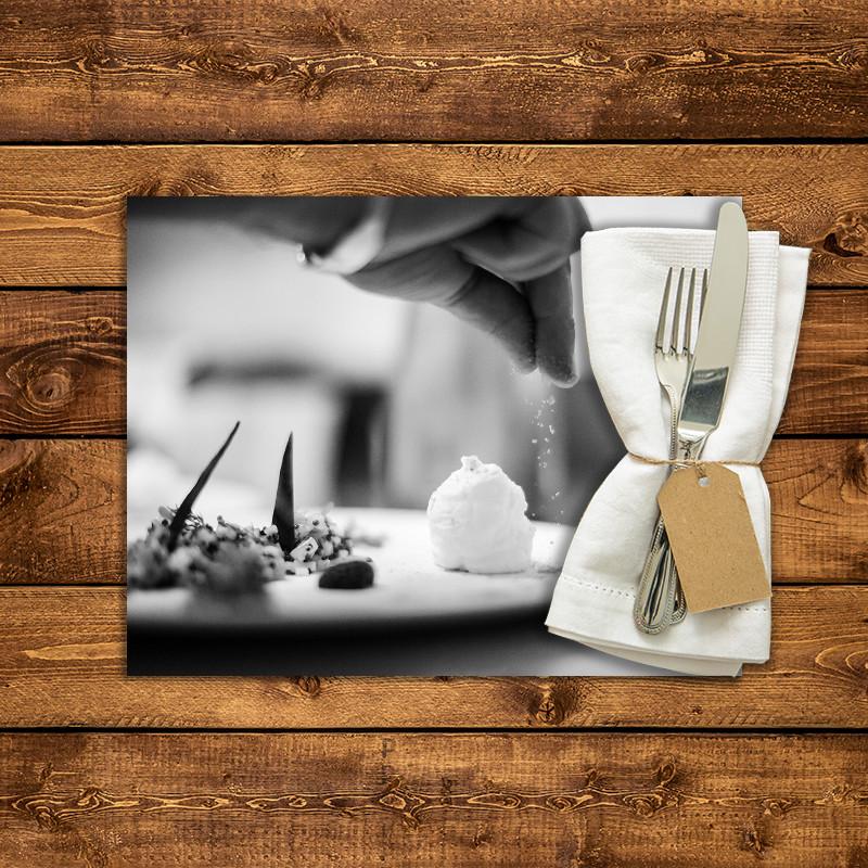 Set de table personnalis dressage assiette 1 fabulhouse kitchen - Dressage de table ...