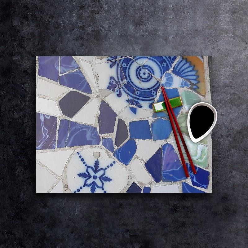 Tableau Mosaique Personnalisé set de table personnalisé - mosaïque 1 - fabulhouse kitchen