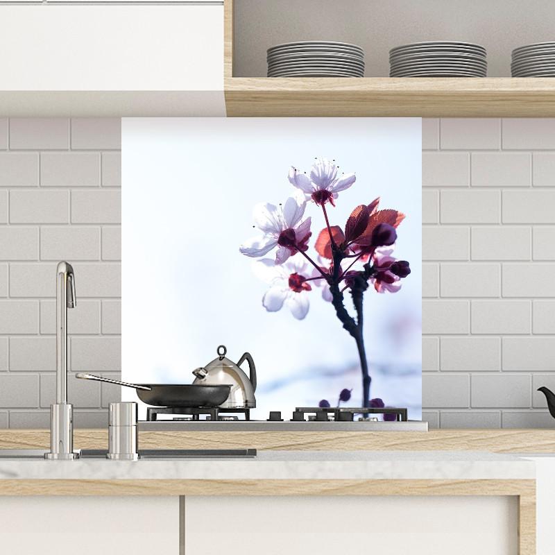 cr dence fleur de prunus 1 fabulhouse kitchen. Black Bedroom Furniture Sets. Home Design Ideas